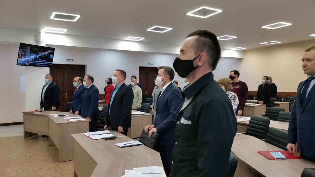 Депутаты Совета муниципального образования город Балаково почтили минутой молчания память жертв геноцида армян